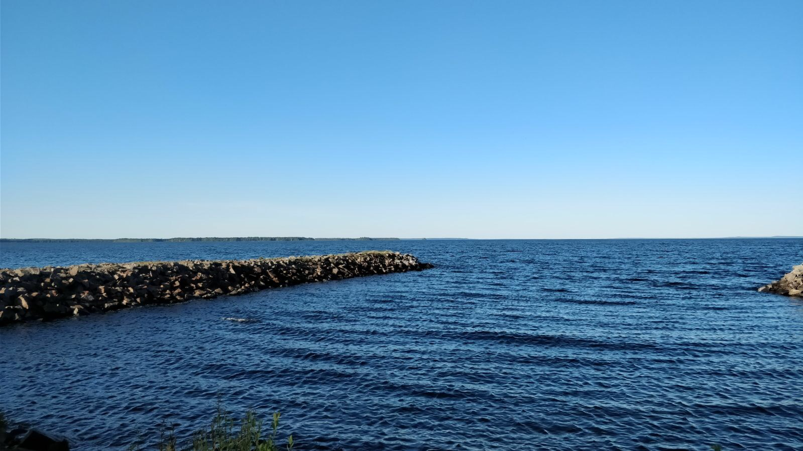 Näkymä Oulujärvelle