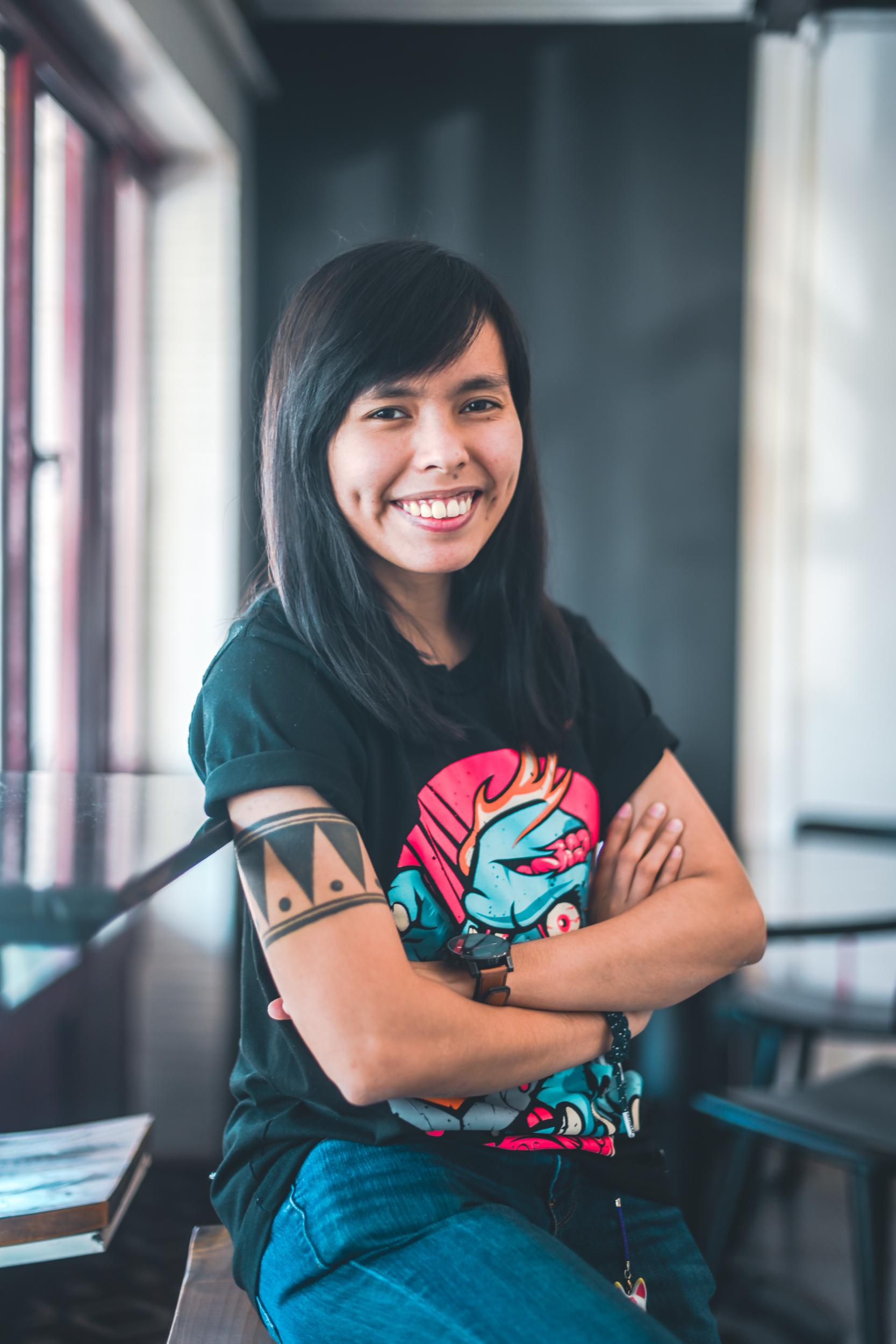 CSS Avatar - Samantha Rose Cruz