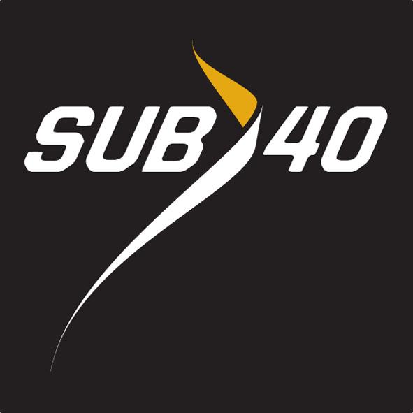 Logotyp för löpträningsgrupp för elitmotionärer.