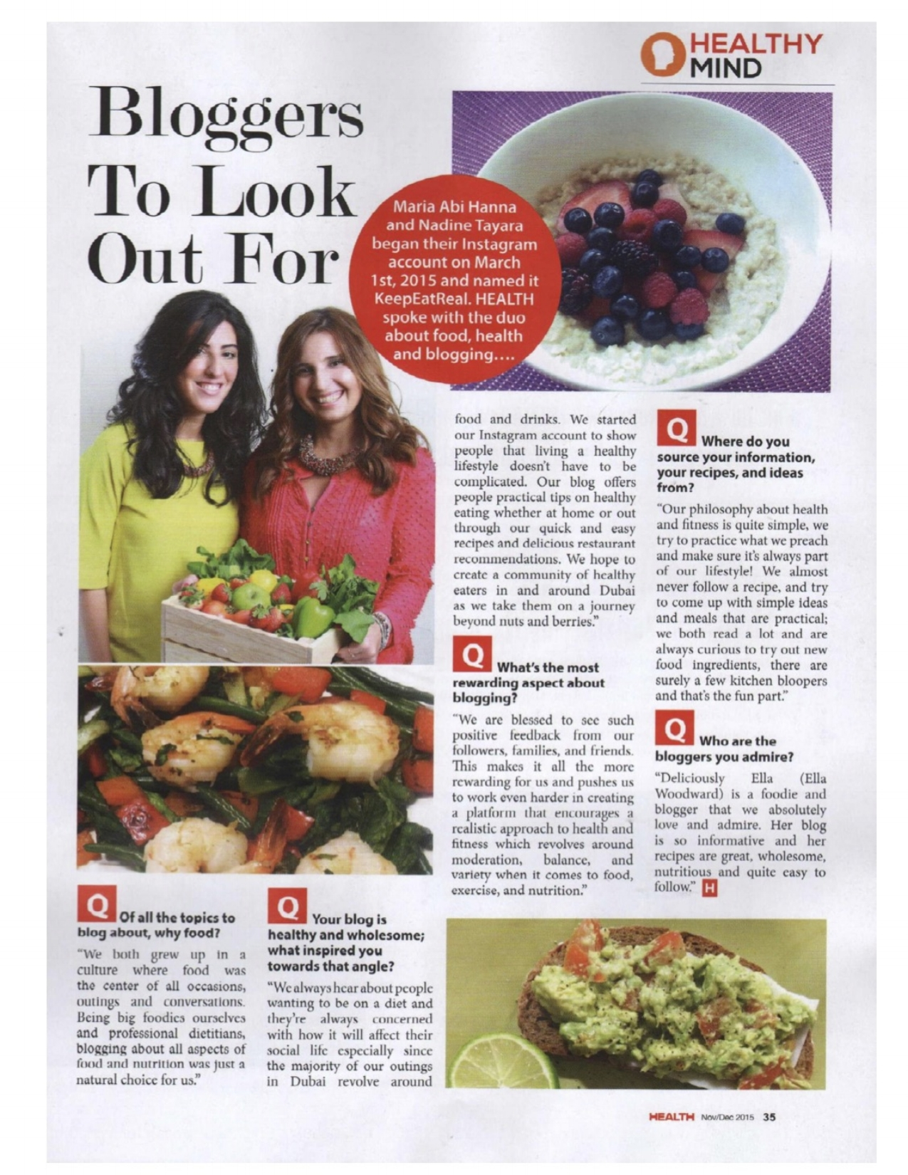 Copy of Health Magazine