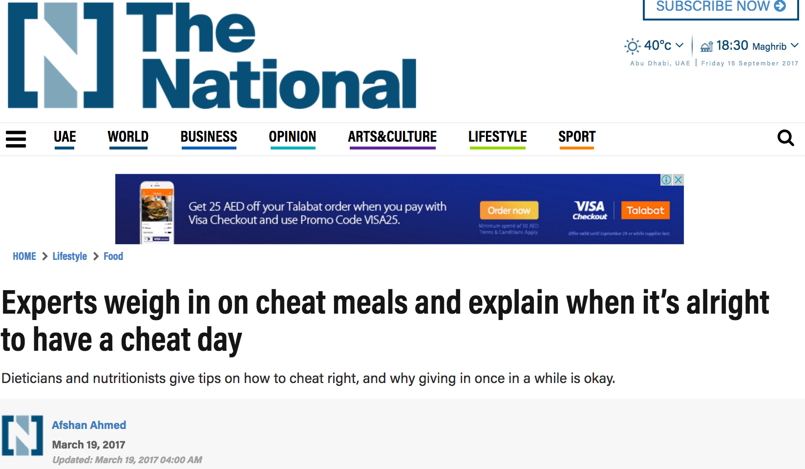 Copy of The National