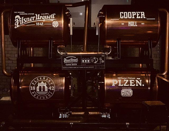 Enjoy your night with us! Try our fresh tank beer at Cooper Hall (NQ)! #cooperhallmcr #nohomcr #dusktilpawnnq #manchester #northernquarter #tankbeer