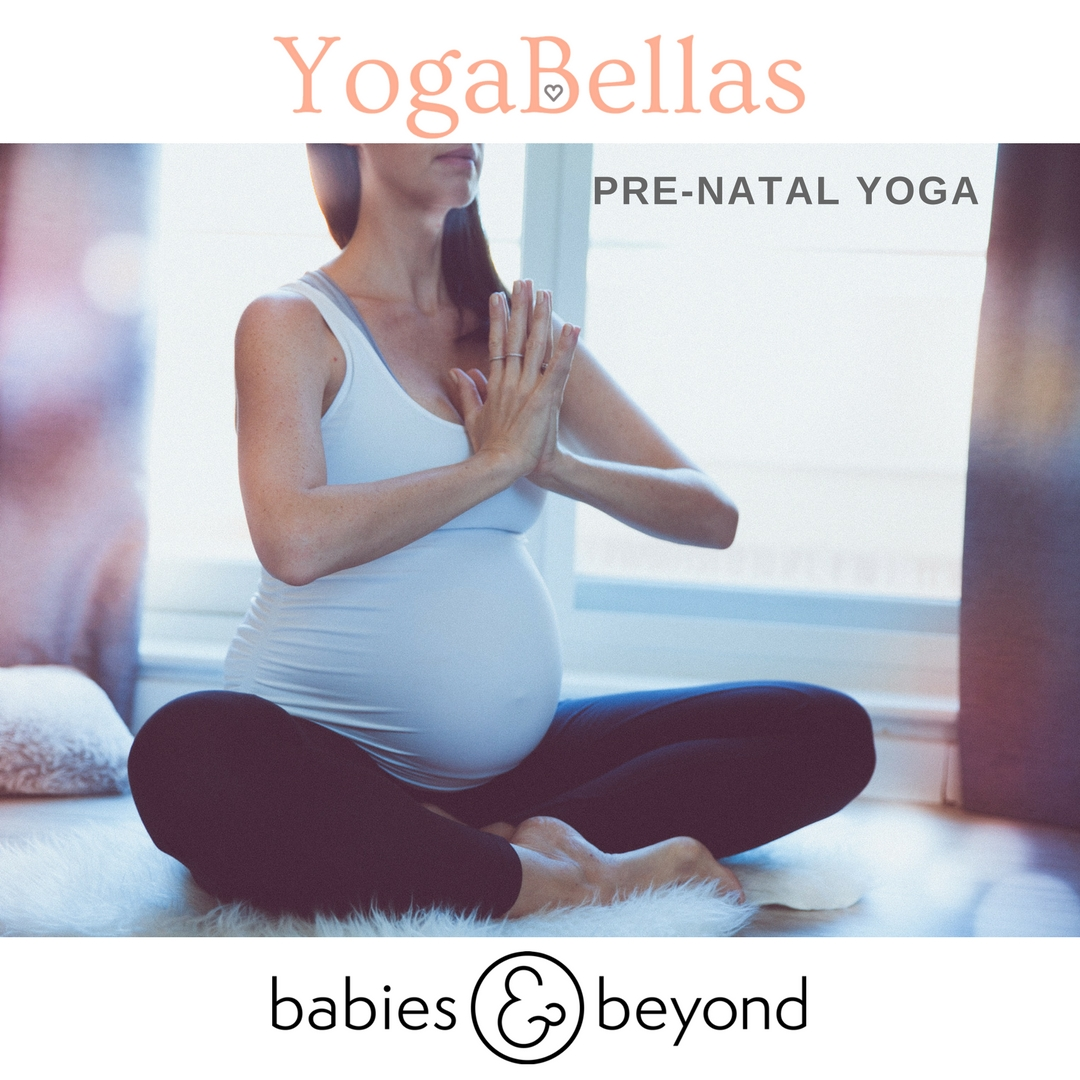 PRE-NATAL YOGA - Weekly Prenatal YogaBabies & Beyond, Media CitySundays at 6.45 - 7.45pm- we take you on a journey of opening hips, relaxing your breath, preparing for birth and connecting with your baby through yoga.Email to register your interest E: info@yogabellas.comPrivate classes also available on request.