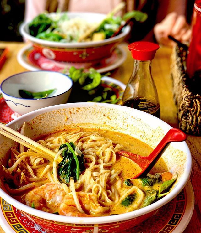 Best laksa in town @phat_phuc_noodle_bar if someone knows laksa secrets please share them with me cos I can't recreate