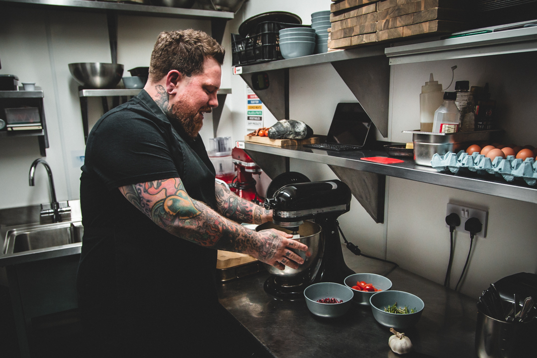 Ash Hamilton, Head Chef - The Curious Kitchen