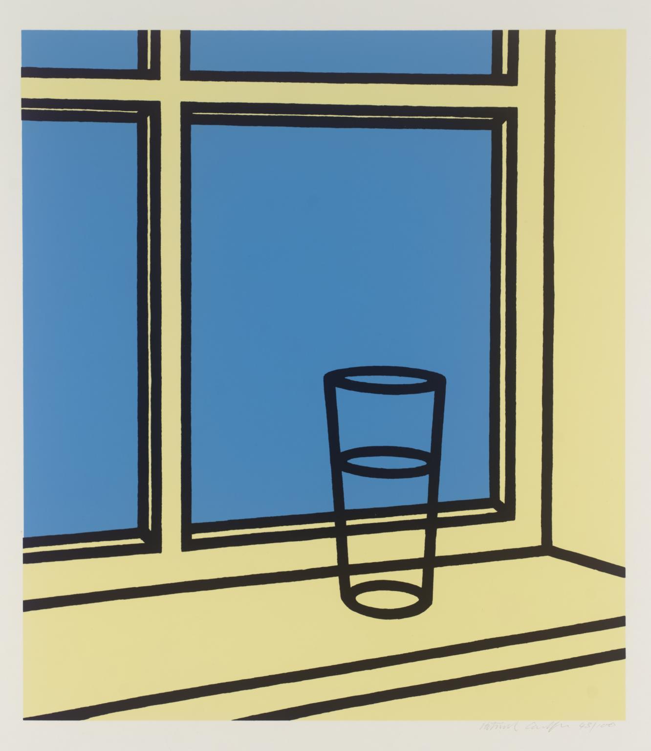 Patrick Caulfield, Oh Helen, I Roam my Room (1973) © the artist