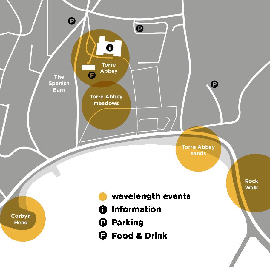 Wavelength map in Torquay