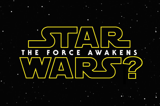The official title logo for the new movie, with a philosophical edit…