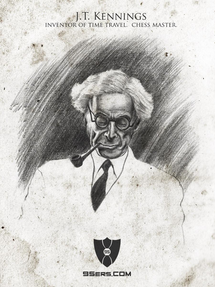 Portrait by  Kip Rasmussen .