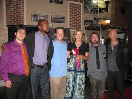 What a cast! Though we're missing a handful in this pic.