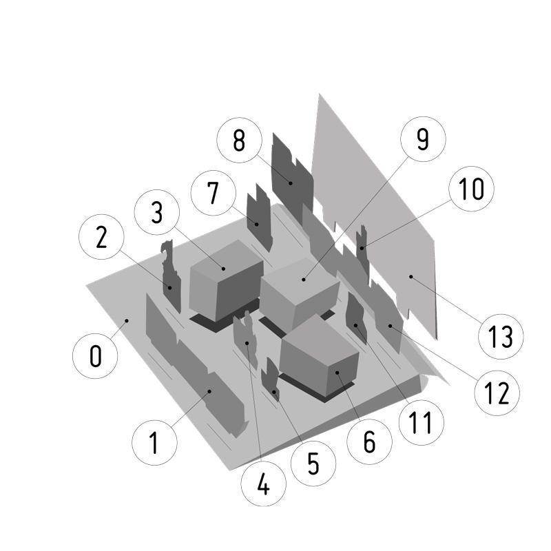 Mit System - Die einfache Nummerierung lässt keine Fragen offen. Das Bauen kann sofort losgehen.