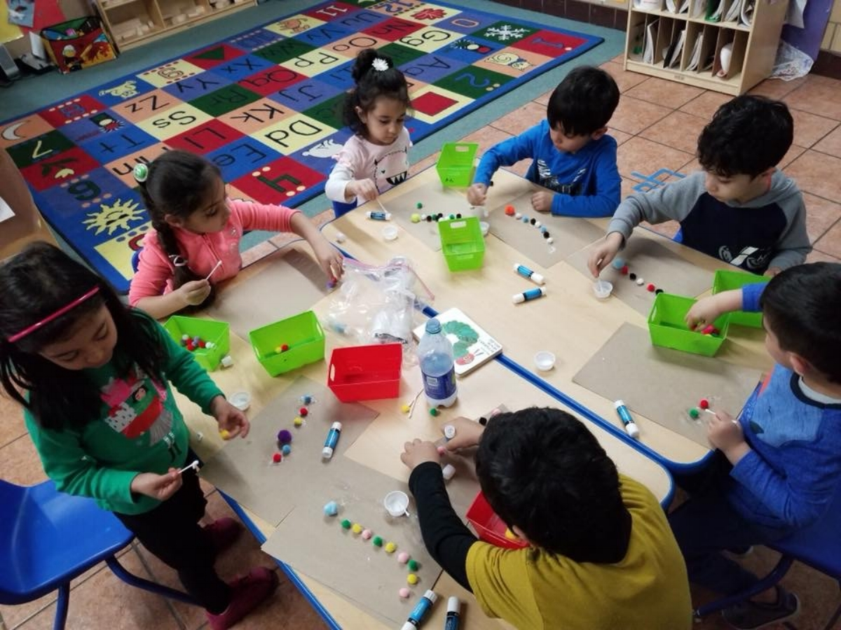 Making patterns at Small Group Time