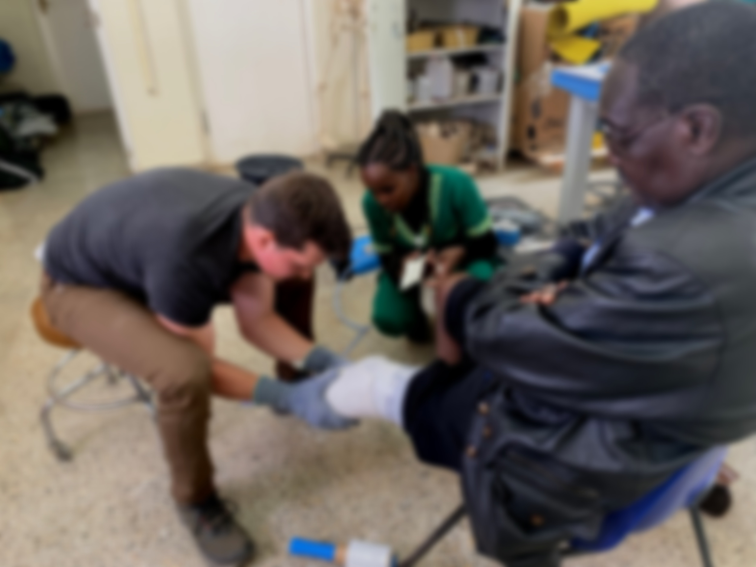 State-of-the-art care in kenyA - Amapro prosthetics help CURE to go mobile
