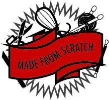 Logo for an Etsy Shop of various handmade crafts.
