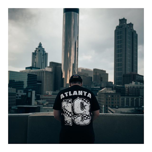 07-29-2019 - One of Atlanta finest @_sig_ went crazy with his new merch 🔥 worn by @chrishouse__ while we were out making photos today. 📷- #leicaqp