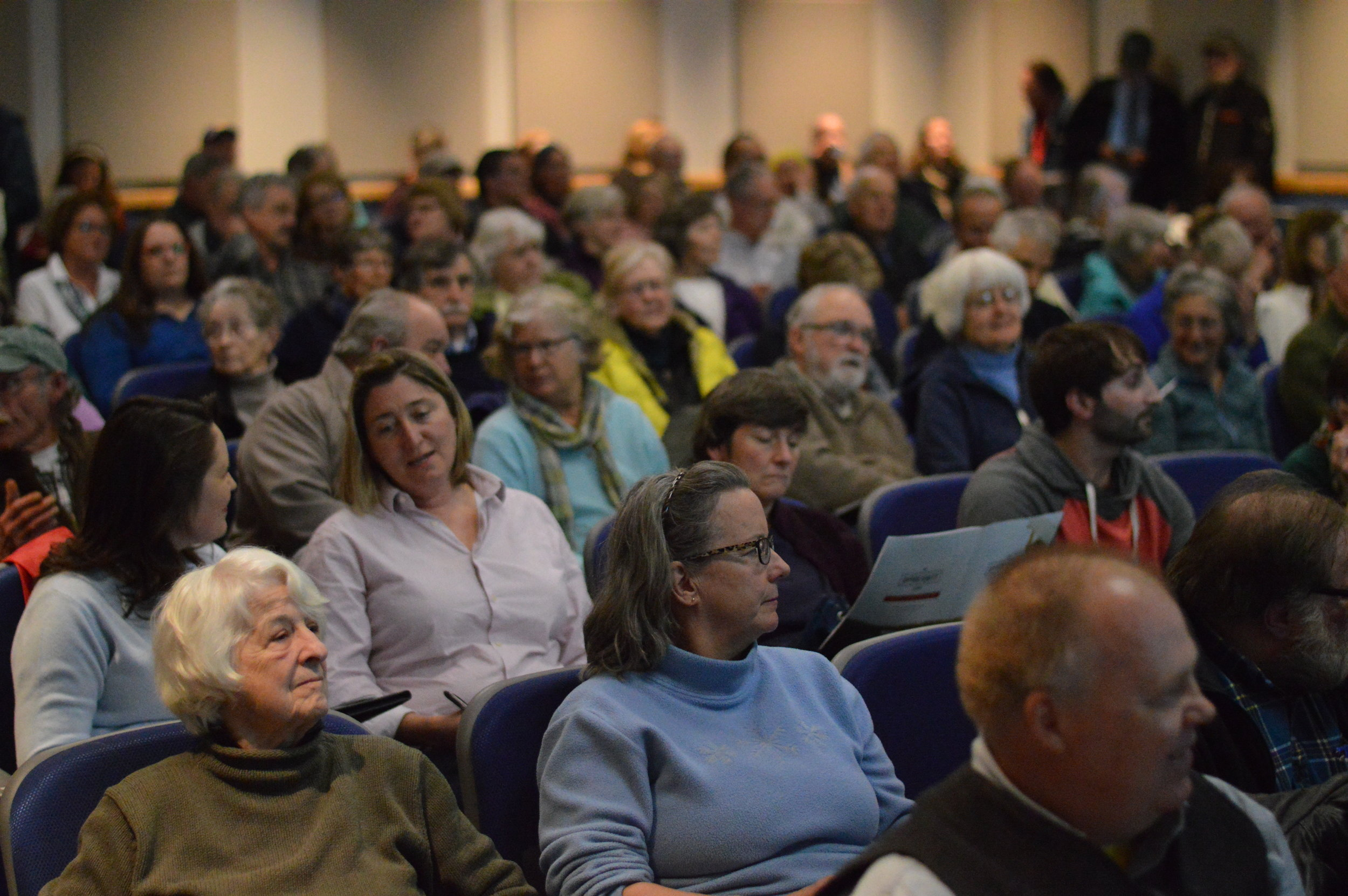 Herbig, Jackson present alternative state budget at packed town hall - Republican Journal April 28, 2017