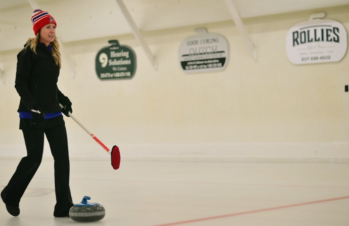 Erin is a proud member of the Belfast Curling Club.