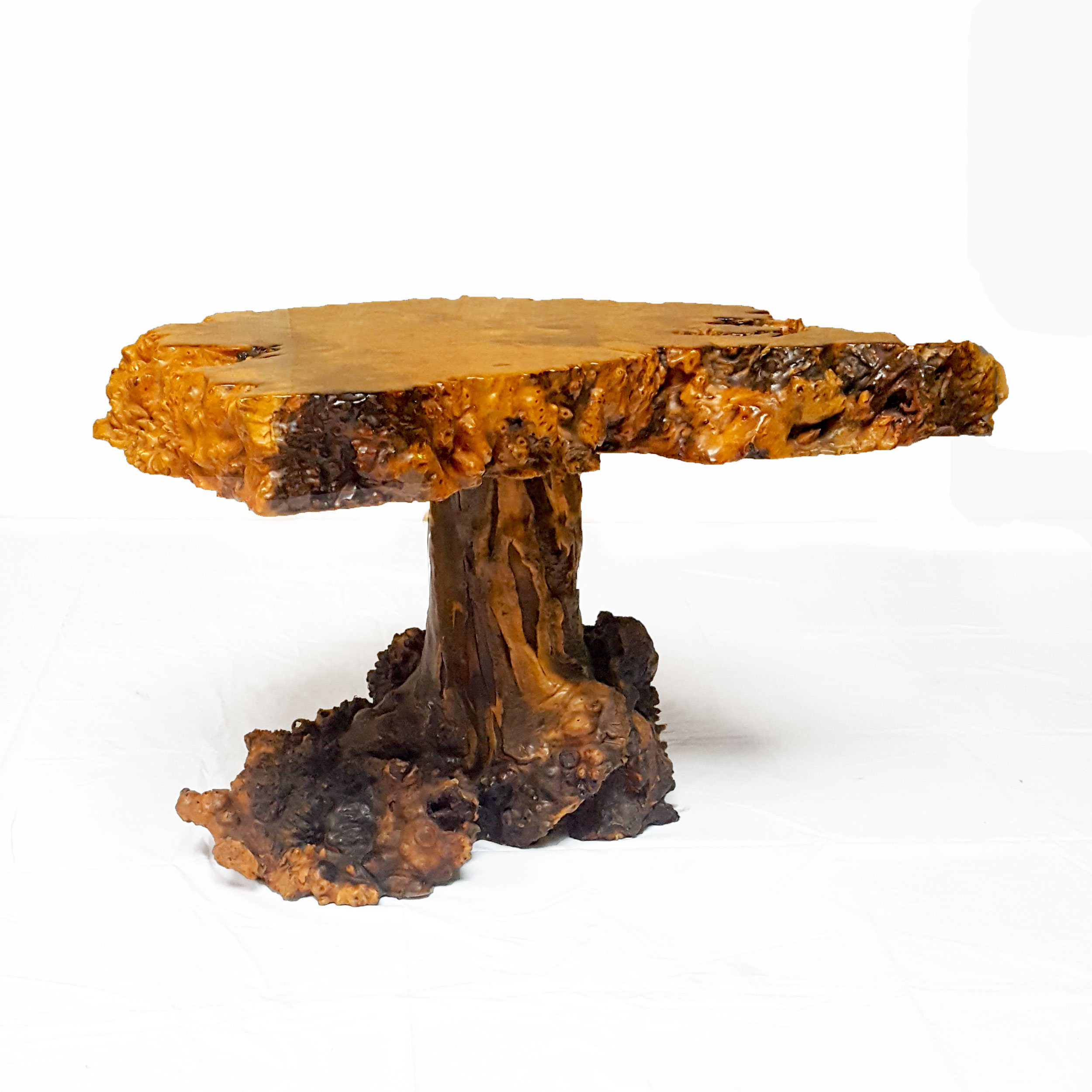Circa Antiques | York, Pa | Showroom | Burl Wood Coffee Table