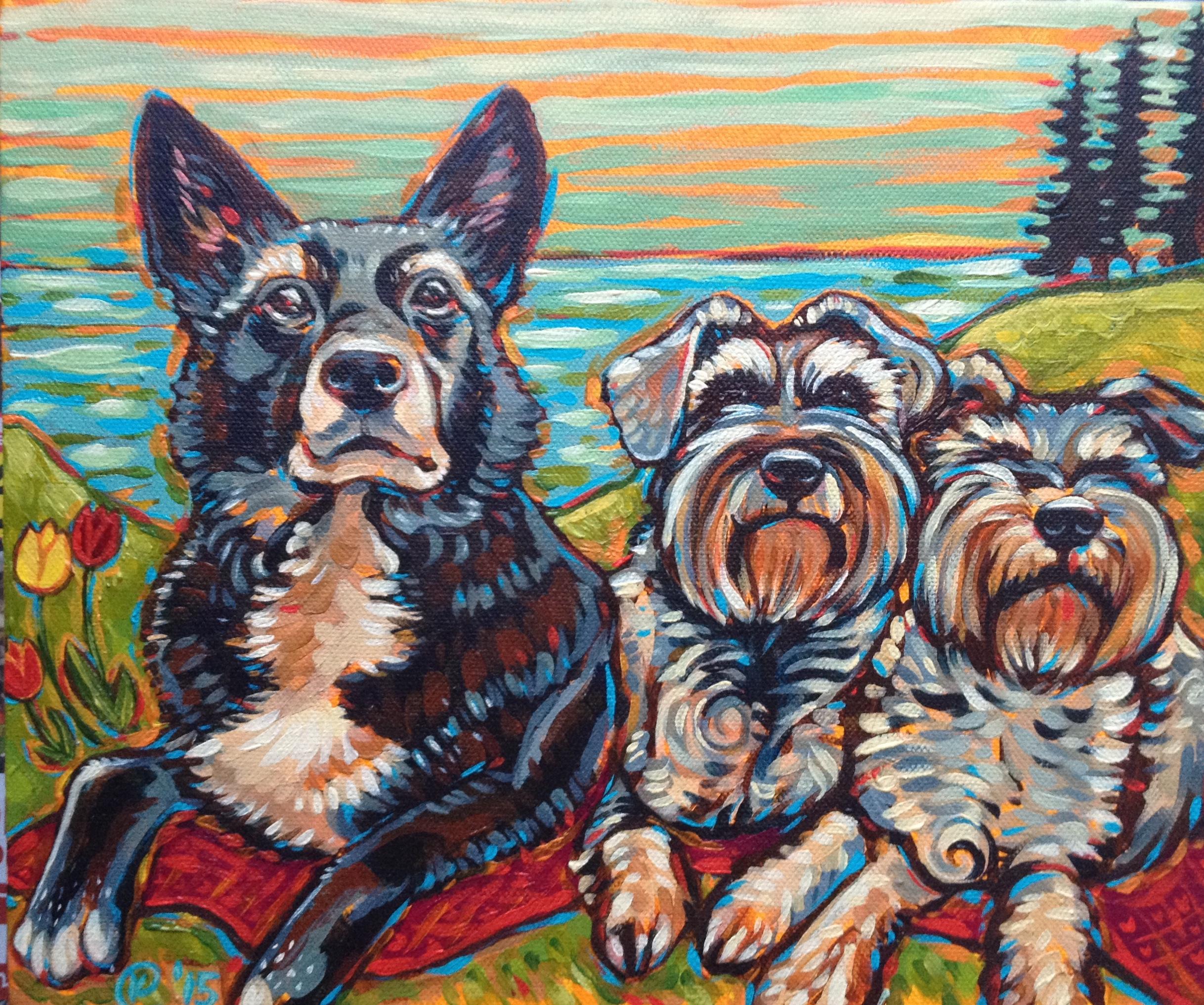 Pet Portrait 2015. Commission