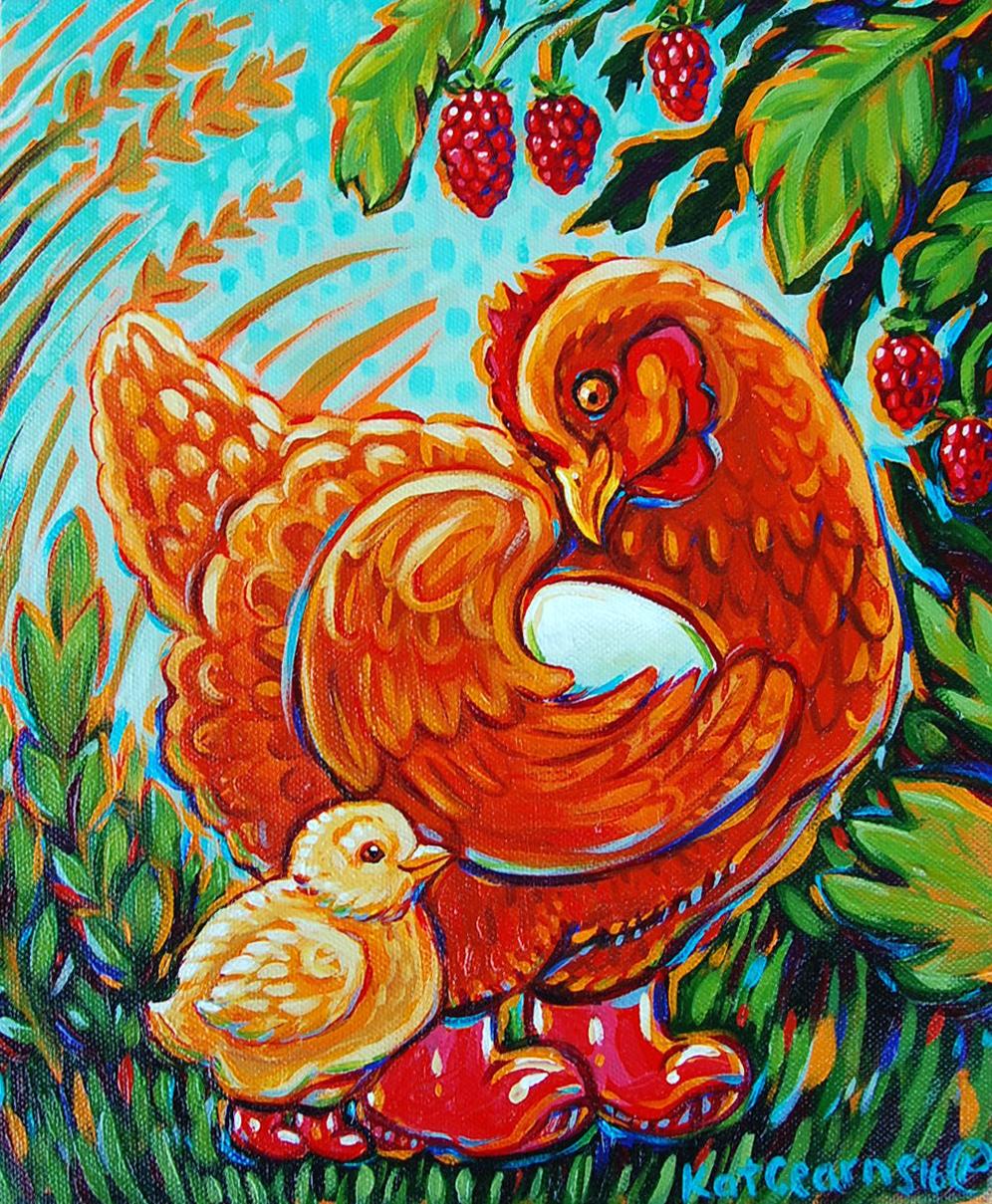 Mama Chicken 2016.
