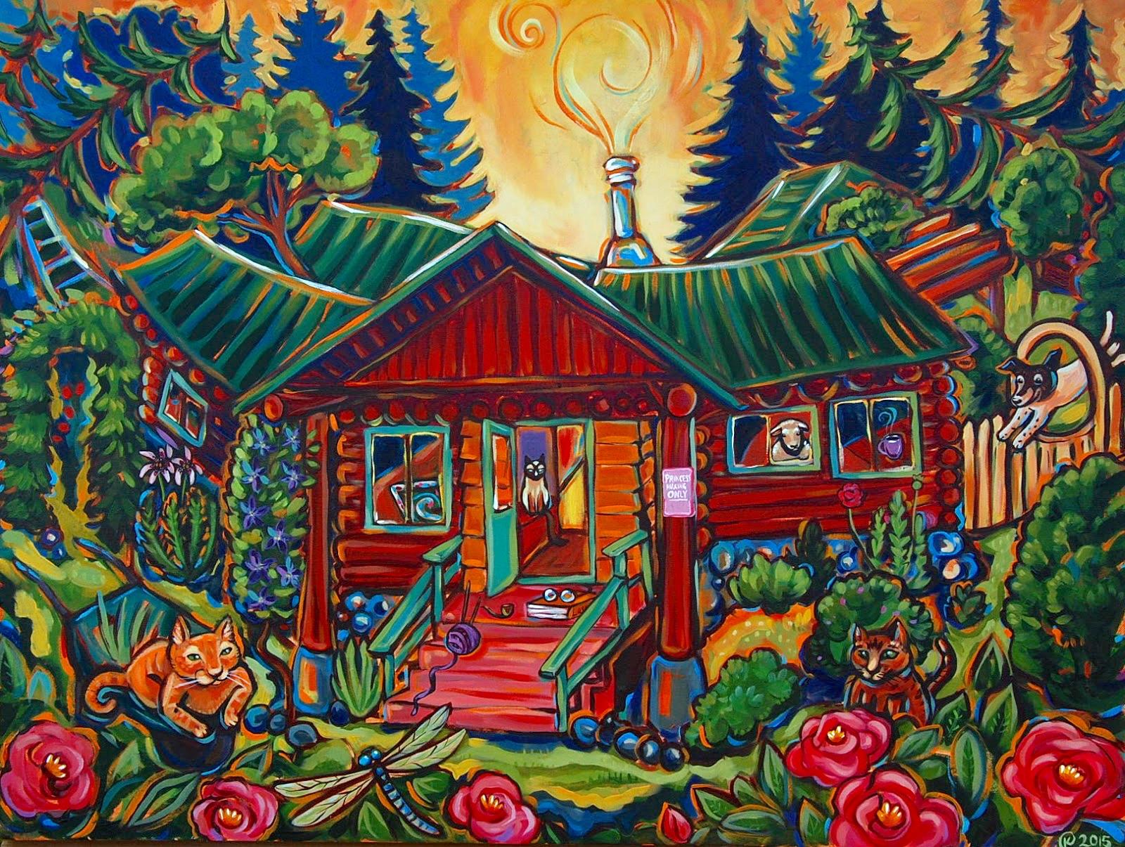 Karen's House 2015. Commission