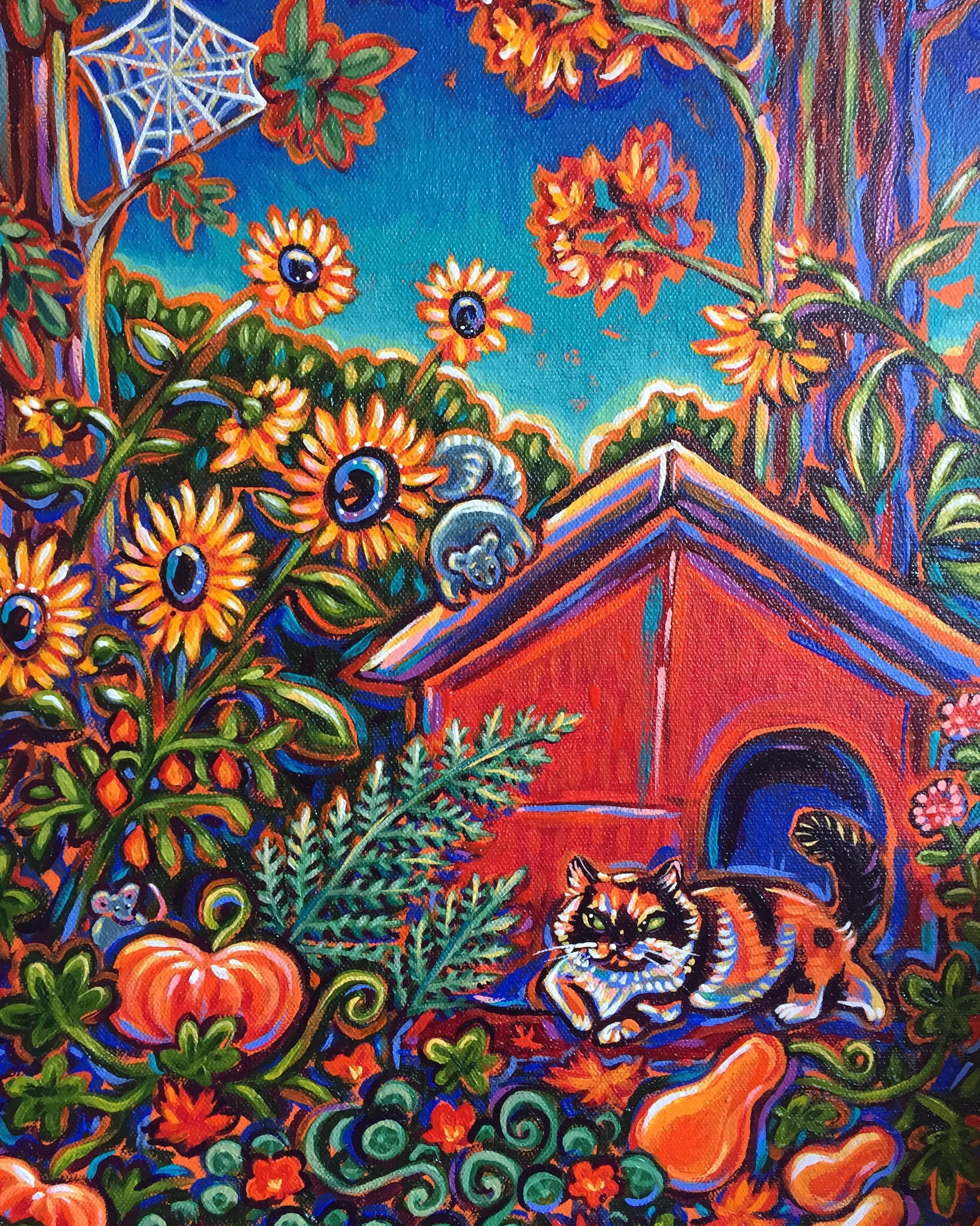 Autumn Kitty 2017. Commission