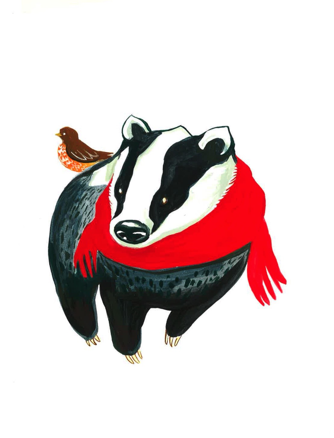 Badger and Robin