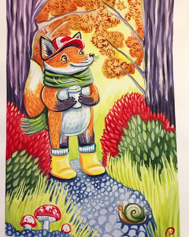 Fall Fox