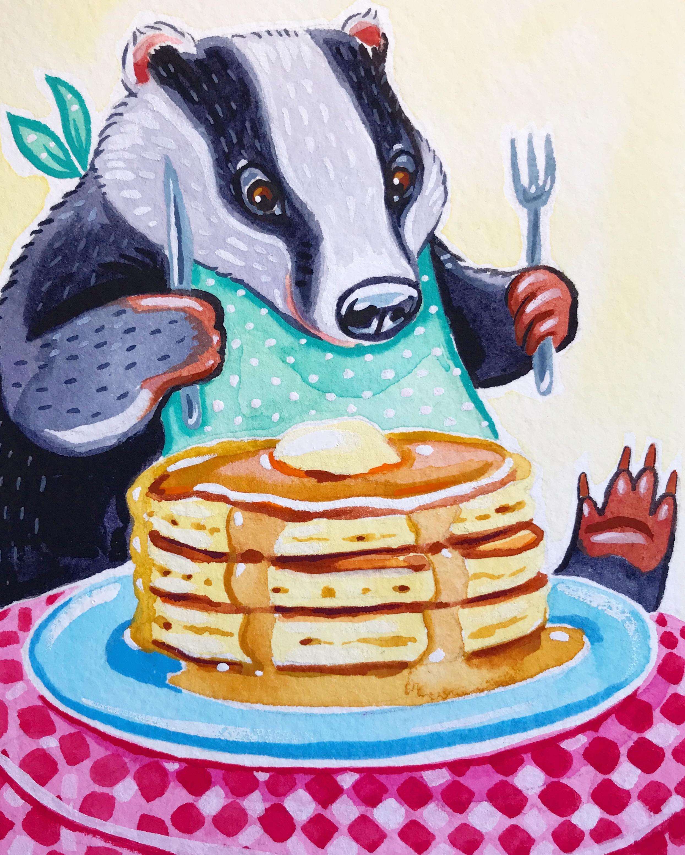 Pancake Badger