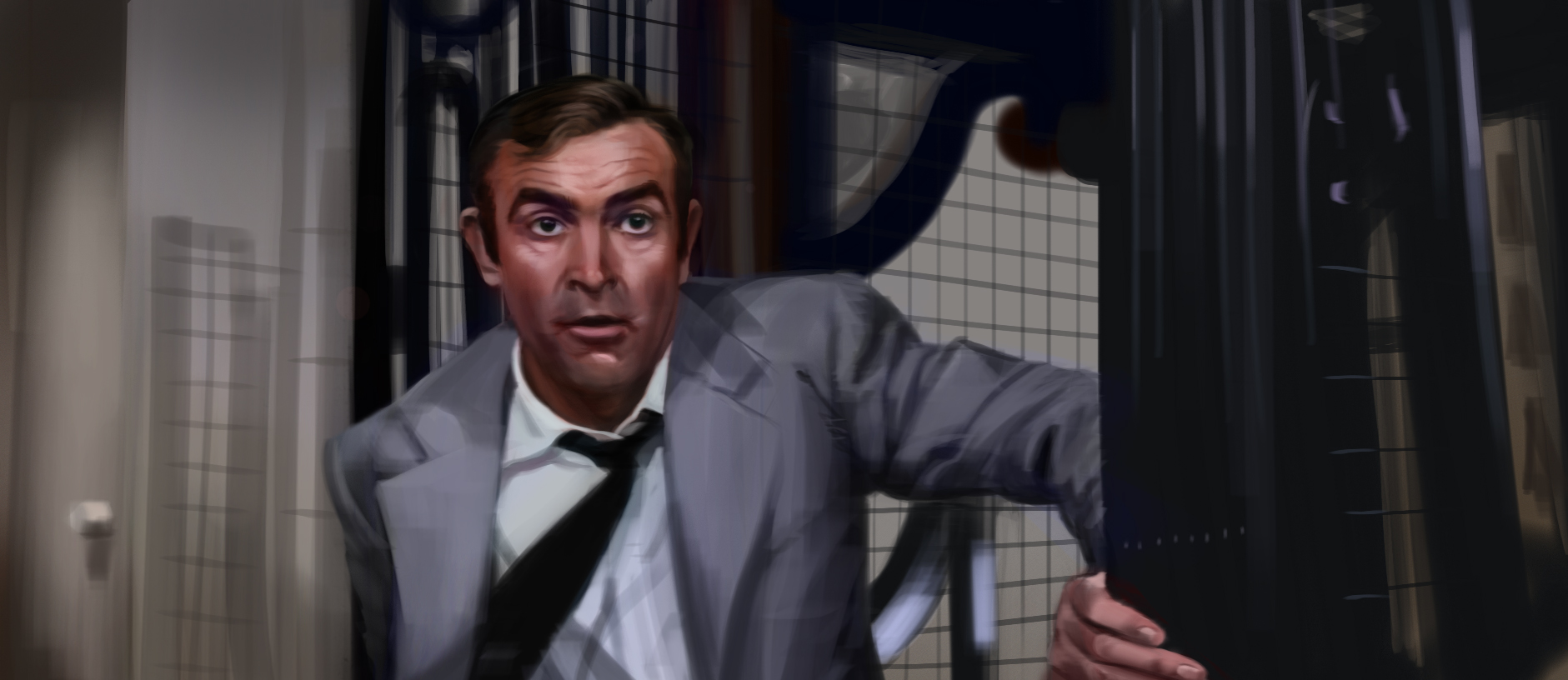Colour Study. From  Diamonds Are Forever (1971)