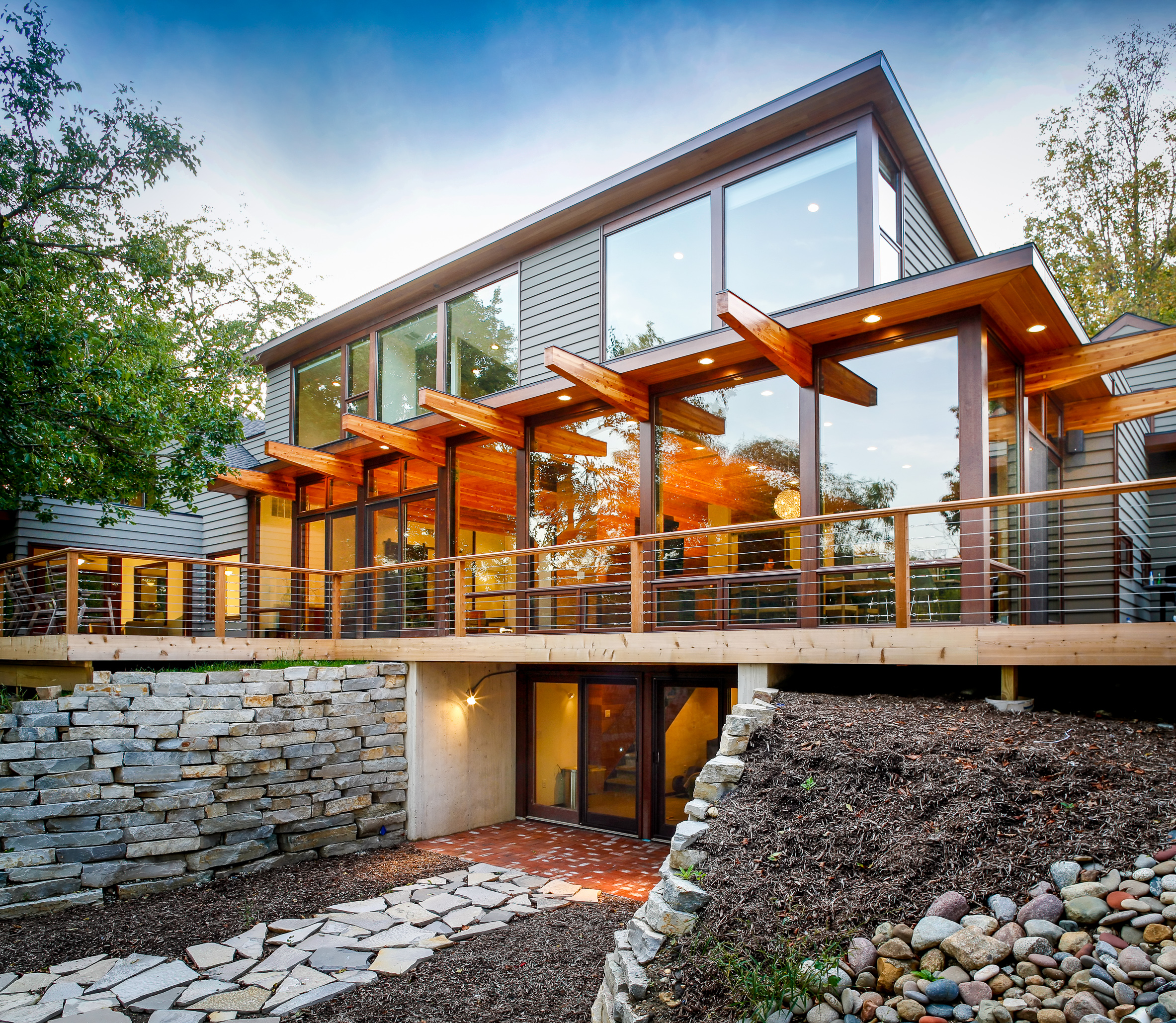 CARLSON RESIDENCE GLASSEY VIEW - OOMBRA ARCHITECTS