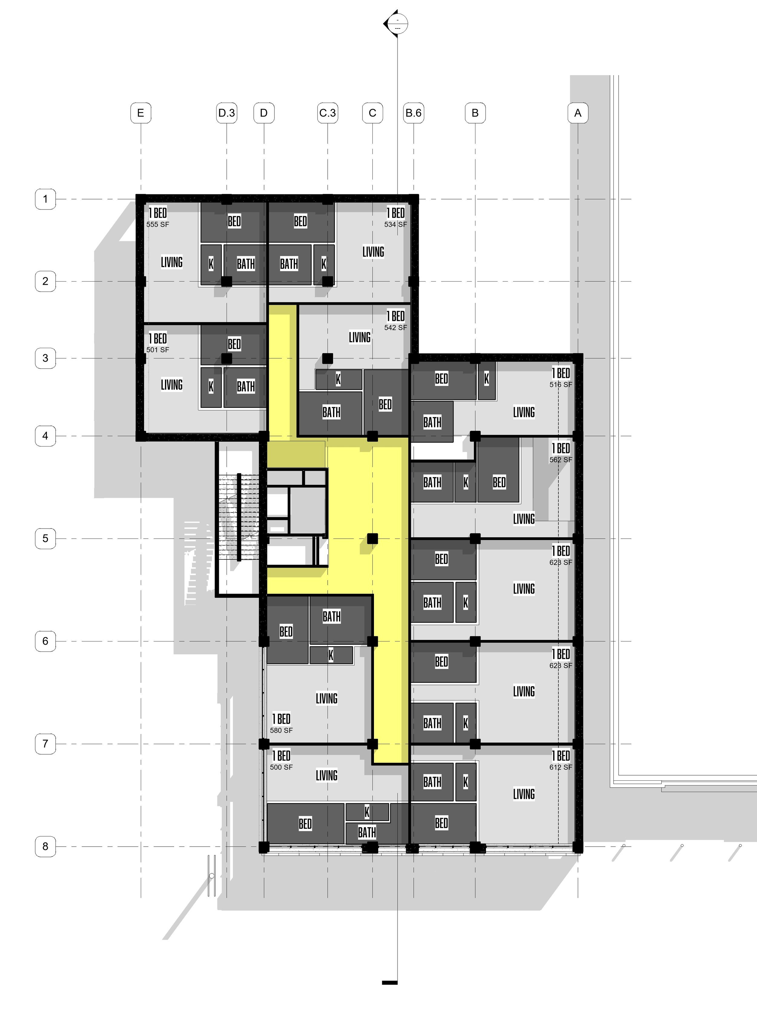 TYPICAL PLAN - OOMBRA ARCHITECTS ©