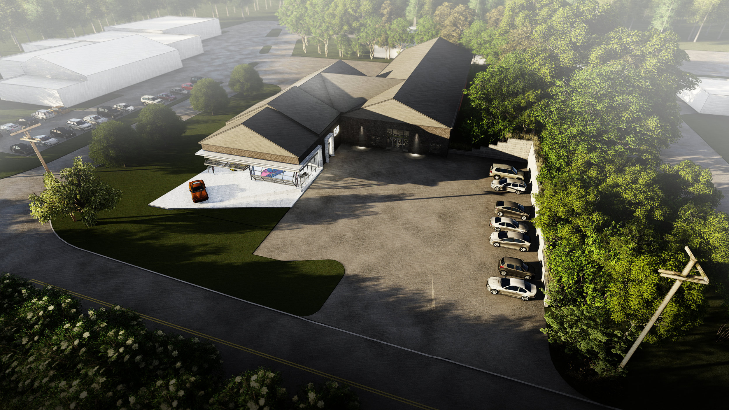 BIRDS-EYE CONCEPT - OOMBRA ARCHITECTS ©