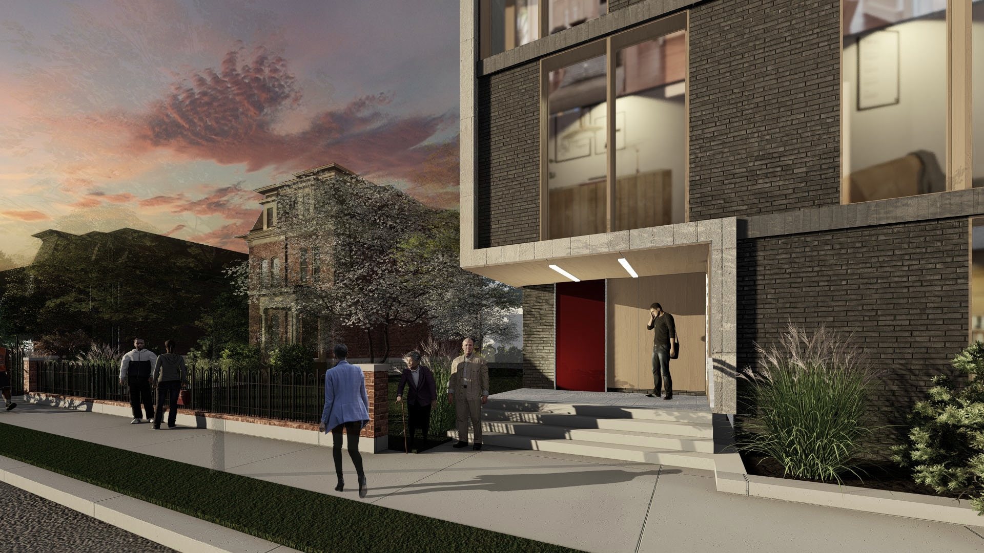 105 ALFRED TOWNHOMES - OOMBRA ARCHITECTS ©