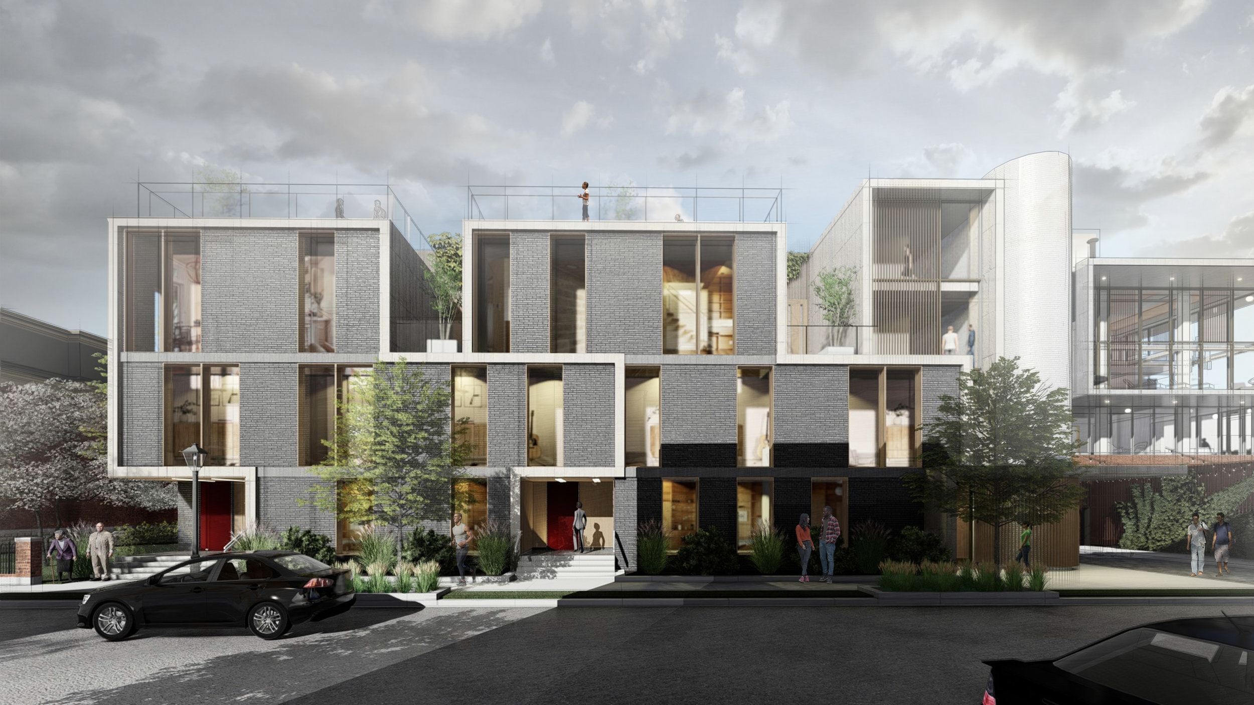 105 ALFRED ELEVATION - OOMBRA ARCHITECTS ©