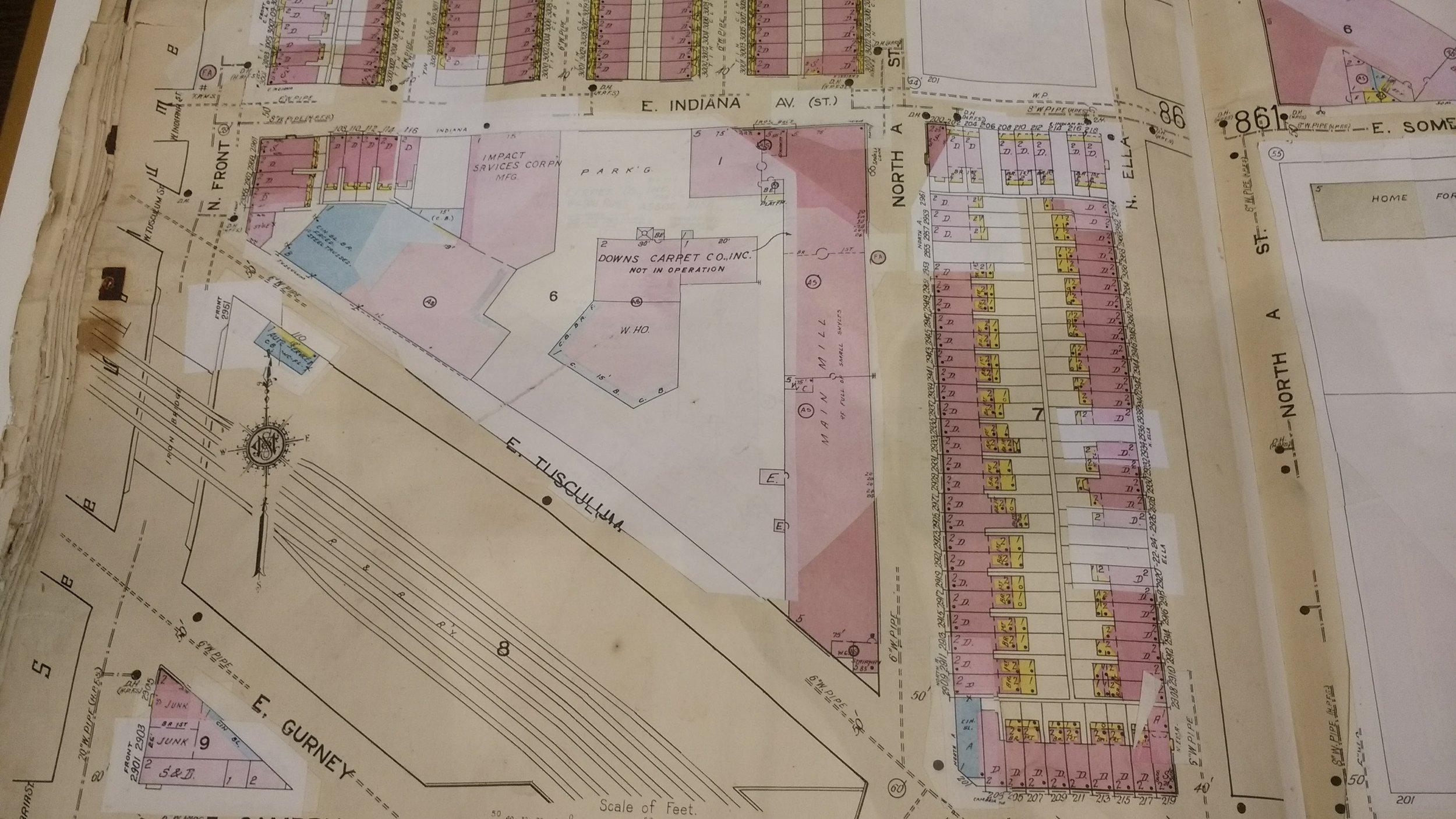 1919 CITY OF PHILADELPHIA MAP