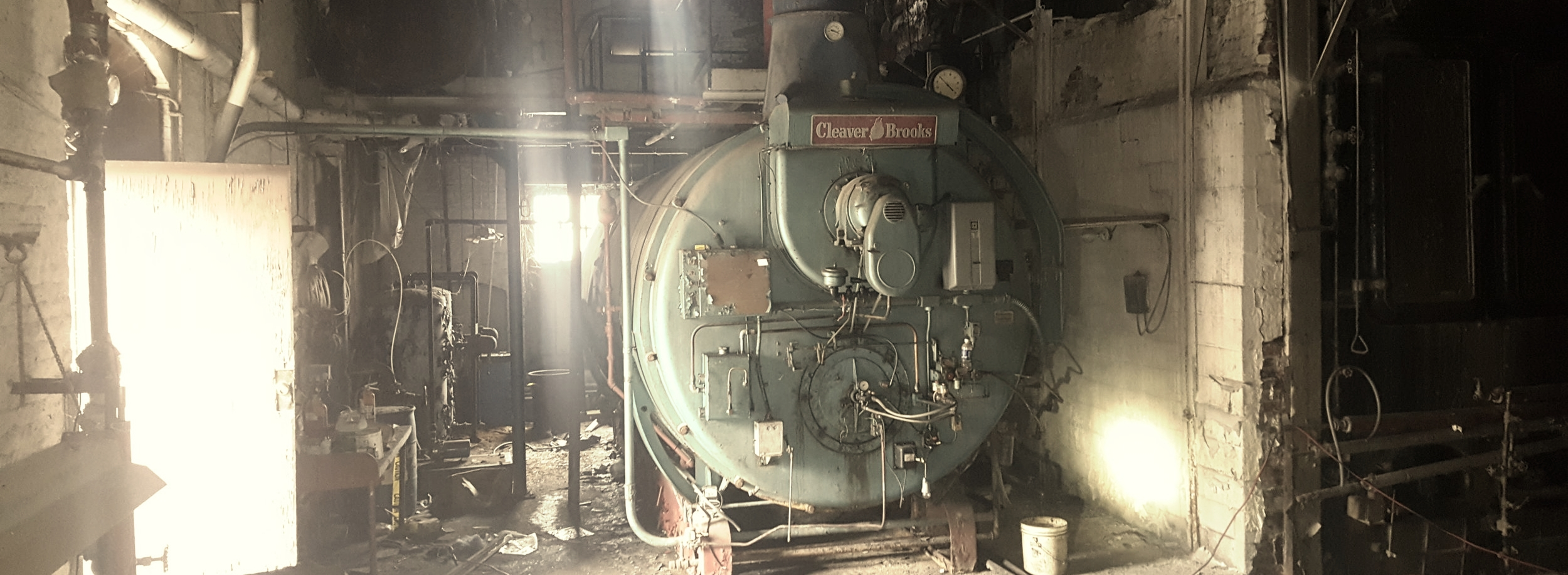 EXISTING BOILER HOUSE