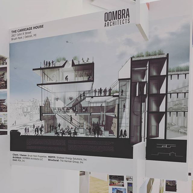 If you haven't done so already, go check out AIA Philadelphia's 2018 Annual Member Exhibit. Only a few days left!  #aia #aiaphiladelphia #philly #exhibit #exhibition #architecture #oombra #oombraarchitects #instagood #igersphilly #igersdetroit #brushpark #modern #detroit #housing #mixeduse #centerforarchitecture #design