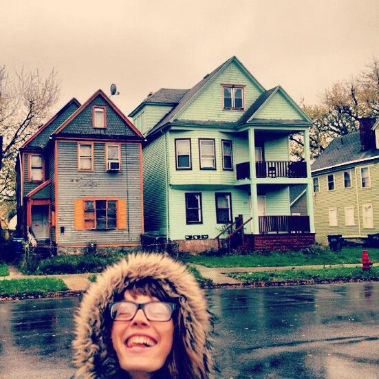 Buffalove Developments first houses