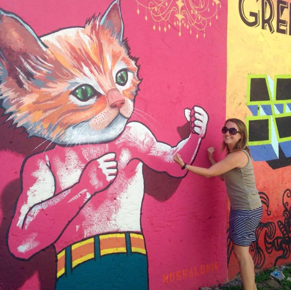 Jen in Niagara Falls Art Alley.jpg
