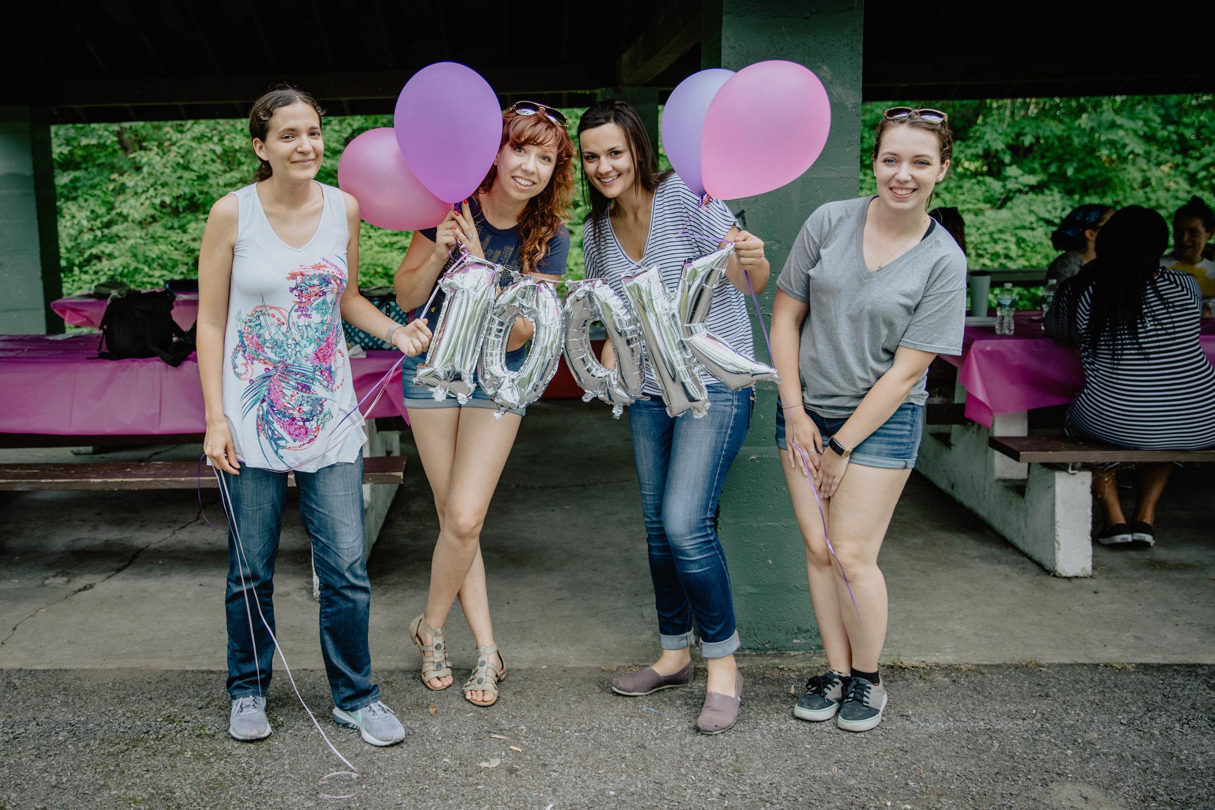 Girl Develop It 100k Member Celebration