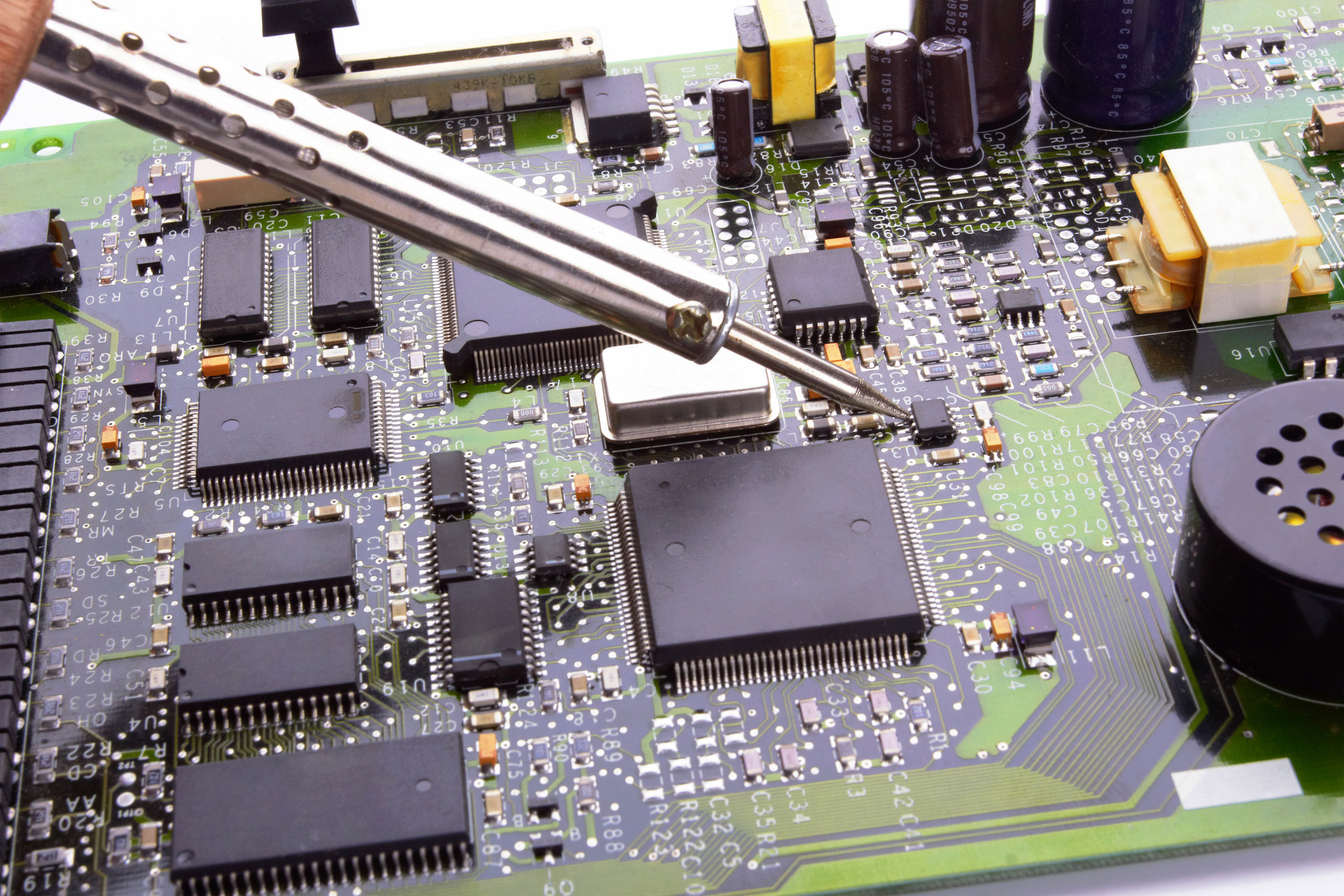 Our Skilled Micro Soldering Technician Can Fix Many Issues Others Can't. -
