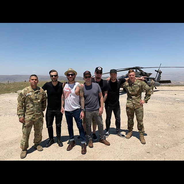 Wow!  What an amazing week and a half we've had with our troops!  Such an honor. Thank you @armedforcesent for having us out again. Thank you @fastballtheband for being rad!  Thanks @jae_robinson_ and @apathyowen for making shit happen!  And so much thanks, love, and respect to our US Military Service Members and their families for all that they do so we can all do what we do! ❤️🇺🇸