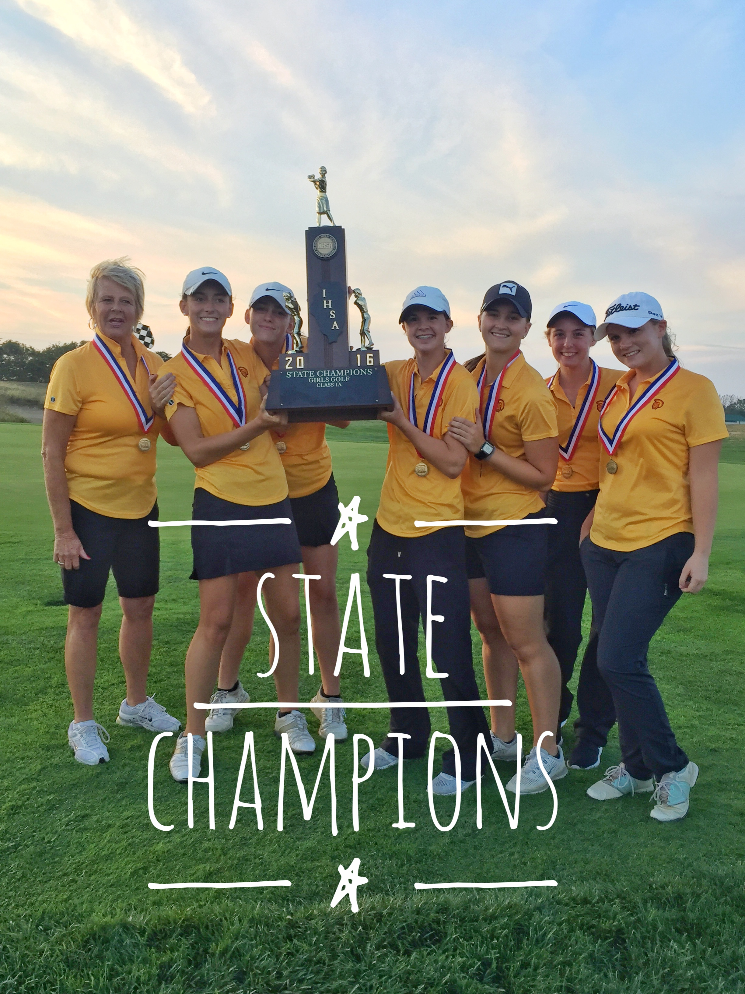 2016 IHSA Girls State Team Champions