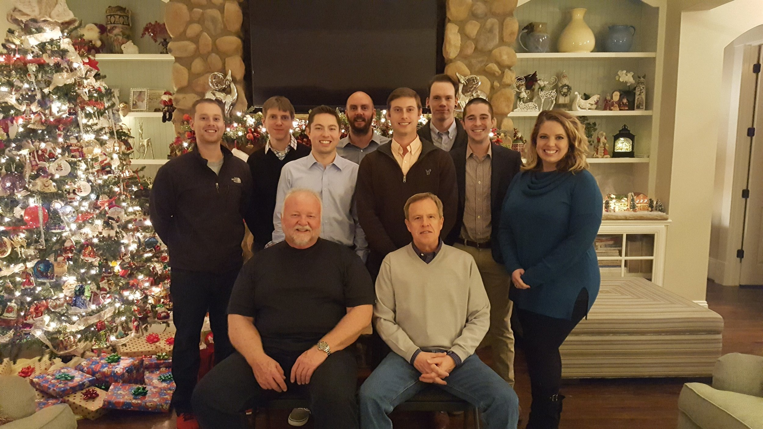 JobPro Technology Team at 2017 Christmas Party