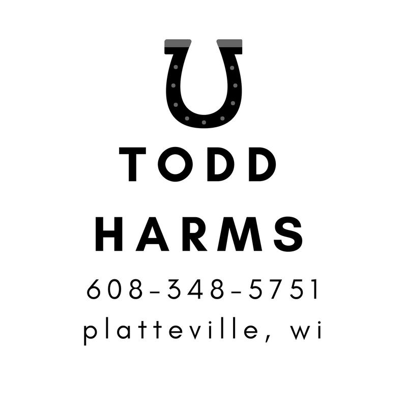 Todd Harms - Platteville Farrier