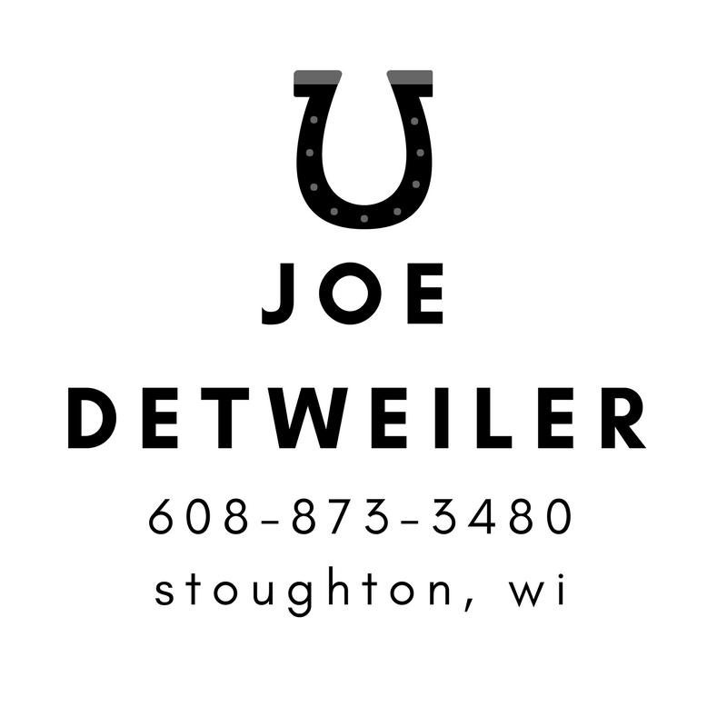 Joe Detweiler - Stoughton Farrier