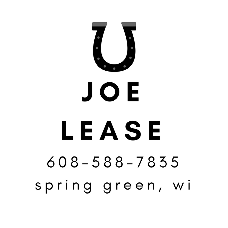 Joe Lease - Spring Green Farrier
