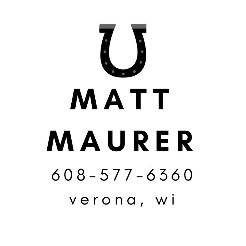 Matt Maurer - Verona Farrier