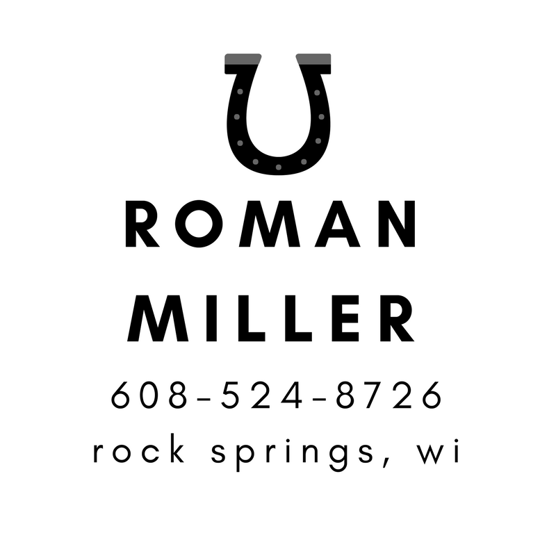Roman Miller - Rock Springs Farrier
